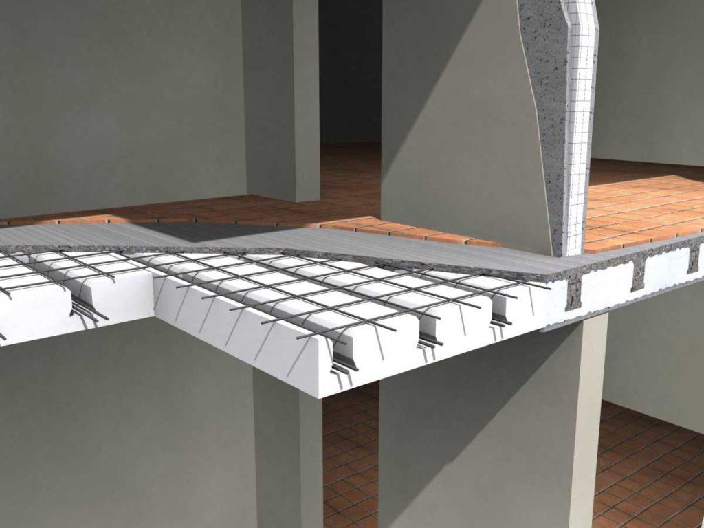 Struttura Di Un Solaio realizzazione di un solaio in un edificio in muratura